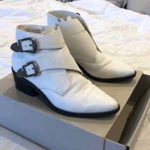 White Urban Outfitters Booties